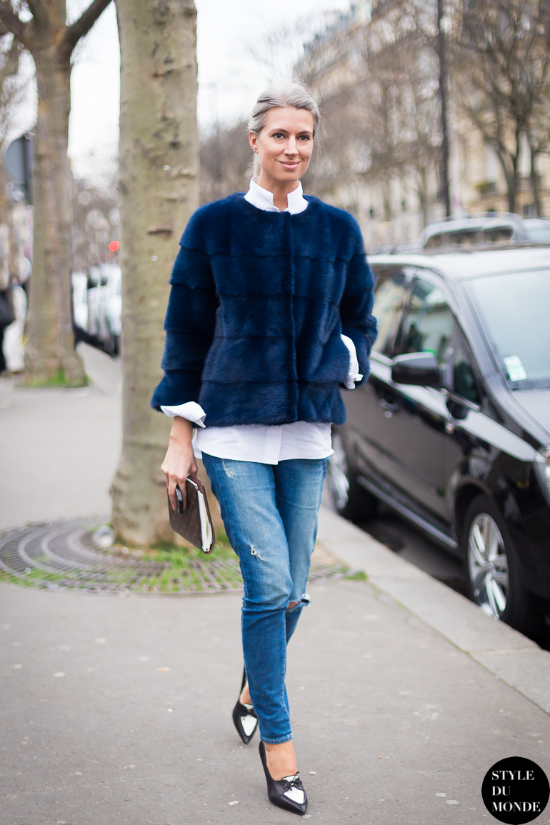 Paris Fashion Week Fw 2014 Street Style Sarah Harris
