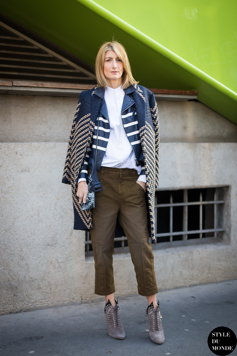 Paris Fashion Week Fw 2014 Street Style Sarah Rutson