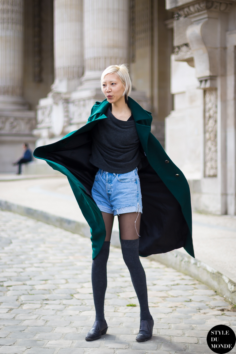 Soo Joo Park funny Street Style Street Fashion by STYLEDUMONDE Street Style Fashion Blog