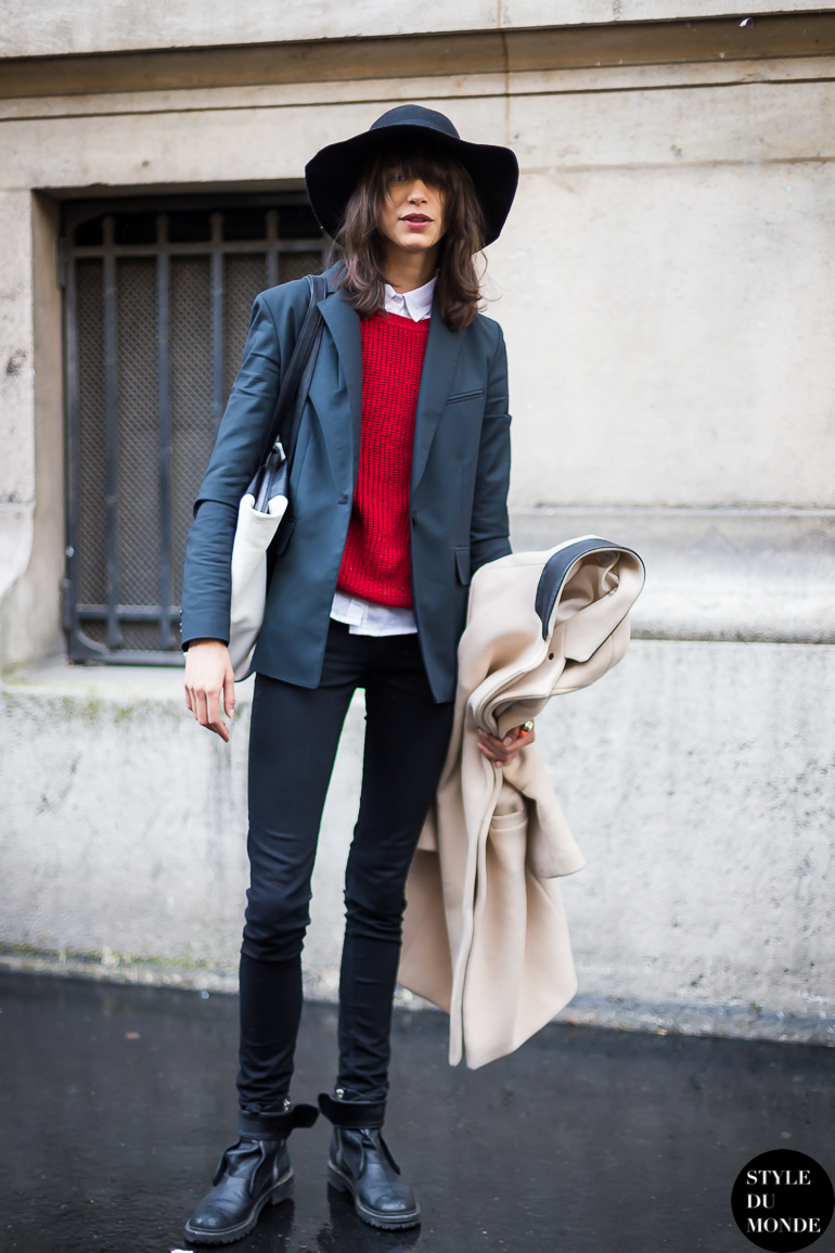 Paris Fashion Week Fw 2014 Street Style Mica Arganaraz