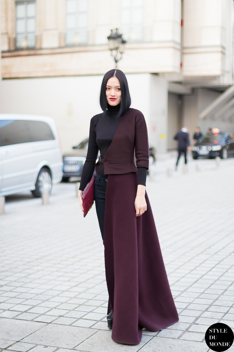 Tiffany Hsu Street Style Street Fashion by STYLEDUMONDE Street Style Fashion Blog