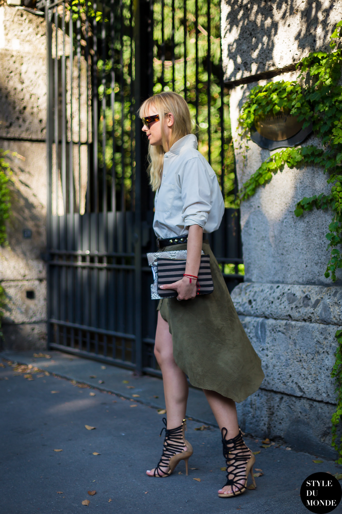 After Max Mara fashion show street style street fashion by STYLEDUMONDE Street Style Fashion Blog