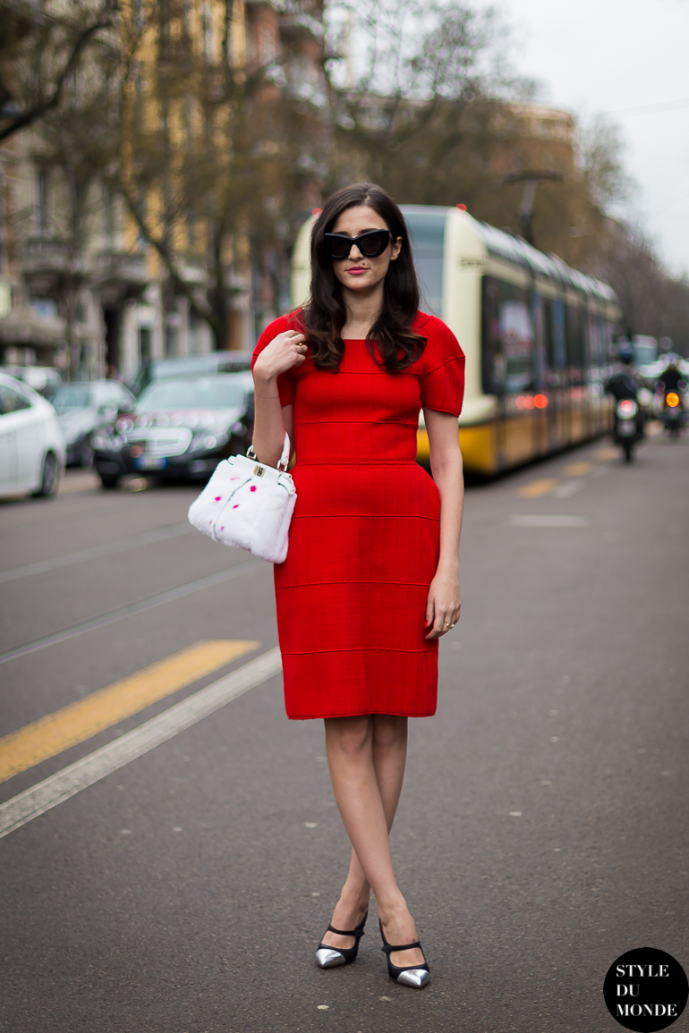 Eleonora Carisi Street Style Street Fashion by STYLEDUMONDE Street Style Fashion Blog