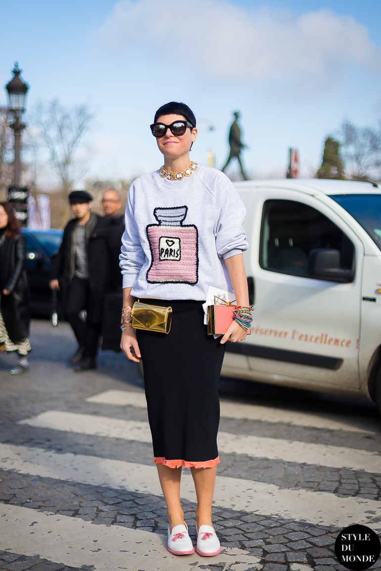 Elisa Nalin Street Style Street Fashion by STYLEDUMONDE Street Style Fashion Blog