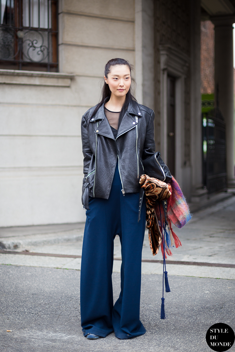 Sung Hee Kim Street Style Street Fashion by STYLEDUMONDE Street Style Fashion Blog