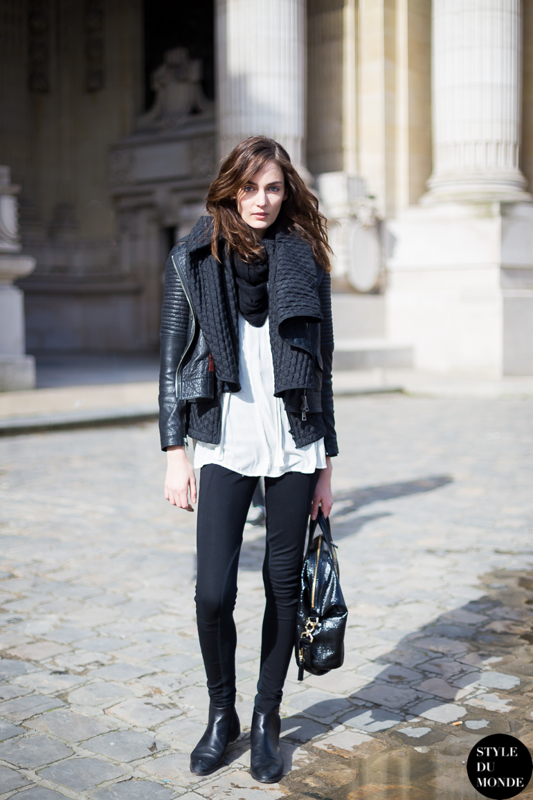 Paris Fashion Week Fw 2014 Street Style Zuzanna Bijoch