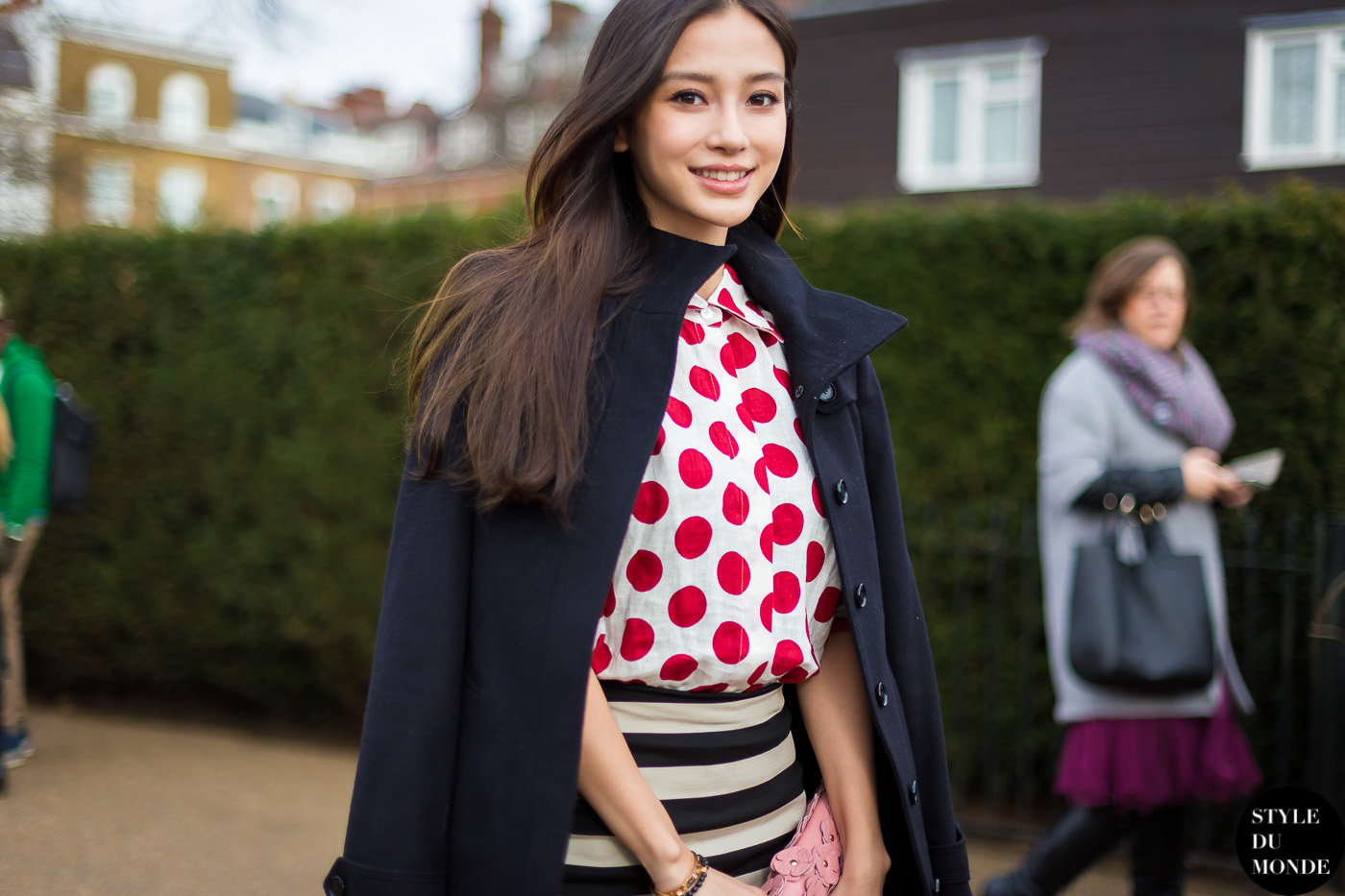 Before Burberry Street Style Street Fashion by STYLEDUMONDE Street Style Fashion Blog