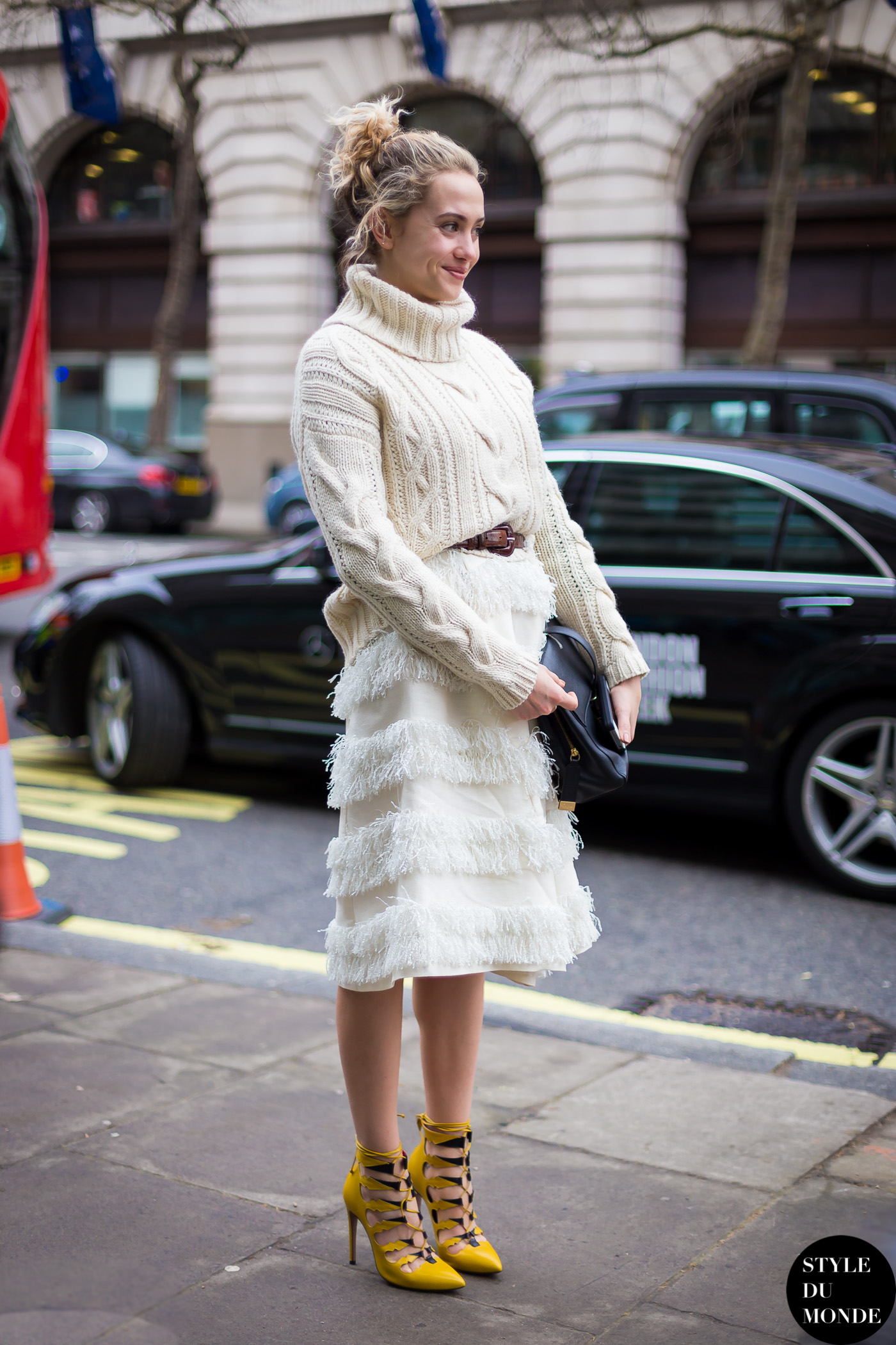 London Fashion Week Fw 2014 Street Style Laurel Pantin Style Du Monde Street Style Street