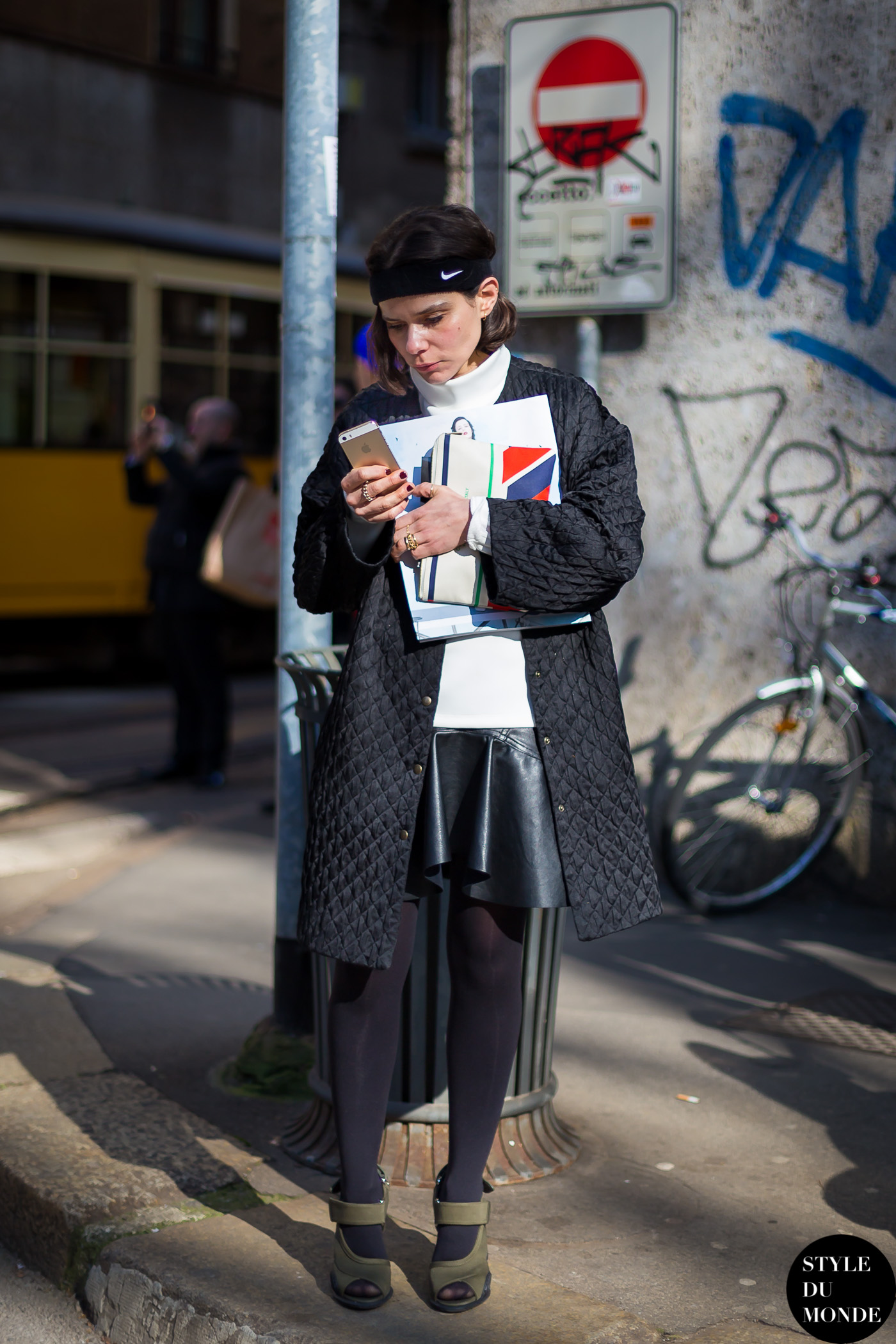 Before Dolce and Gabbana Street Style Street Fashion by STYLEDUMONDE Street Style Fashion Blog