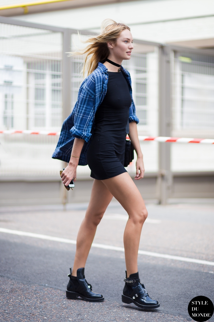 Paris Men 39 S Fashion Week Spring 2015 Street Style Candice Swanepoel Style Du Monde Street