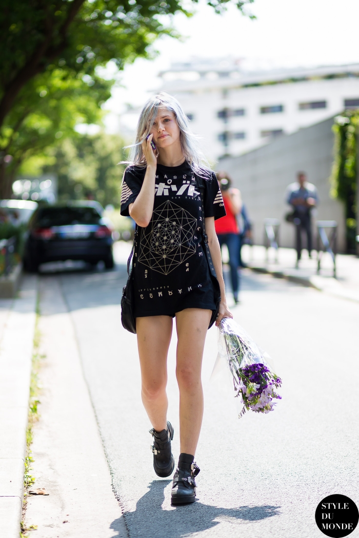 Charlotte Free Street Style Street Fashion by STYLEDUMONDE Street Style Fashion Blog