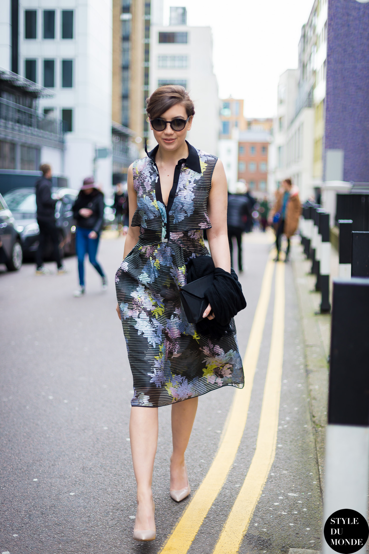 Daisy Lowe Street Style Street Fashion by STYLEDUMONDE Street Style Fashion Blog