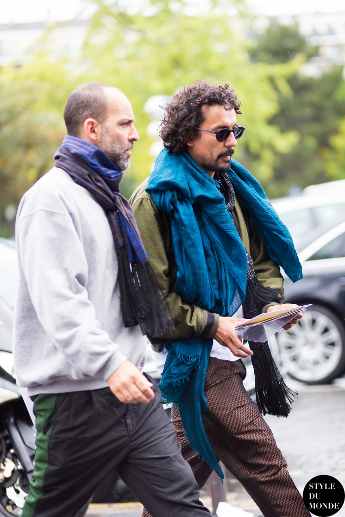 Haider Ackermann Street Style Street Fashion by STYLEDUMONDE Street Style Fashion Blog