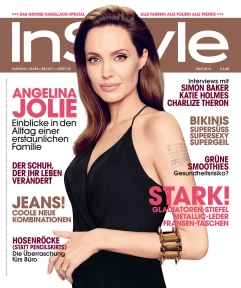 InStyle Germany June 2014 cover Angelina Jolie