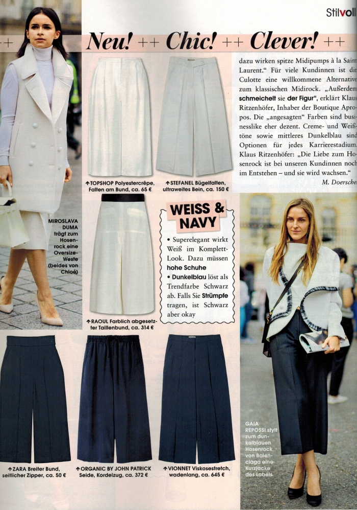 Instyle Germany June 2014 Mira Duma & Gaia Repossi Street Style Street Fashion by STYLEDUMONDE