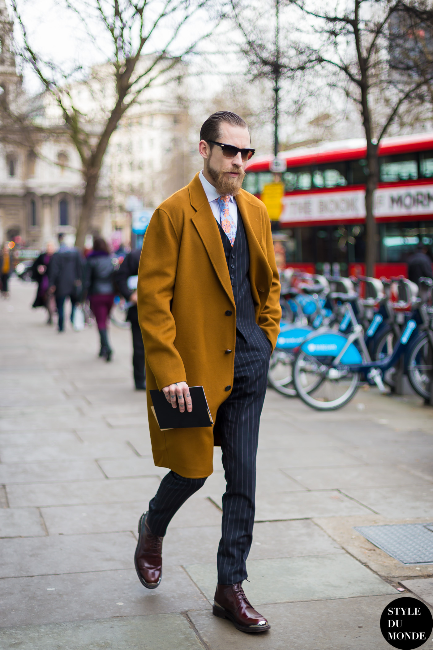 Justin O'Shea Street Style Street Fashion by STYLEDUMONDE Street Style Fashion Blog