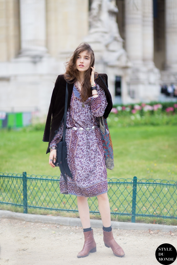 Haute Couture Fall 2014 Street Style Grace Hartzel Style Du Monde Street Style Street