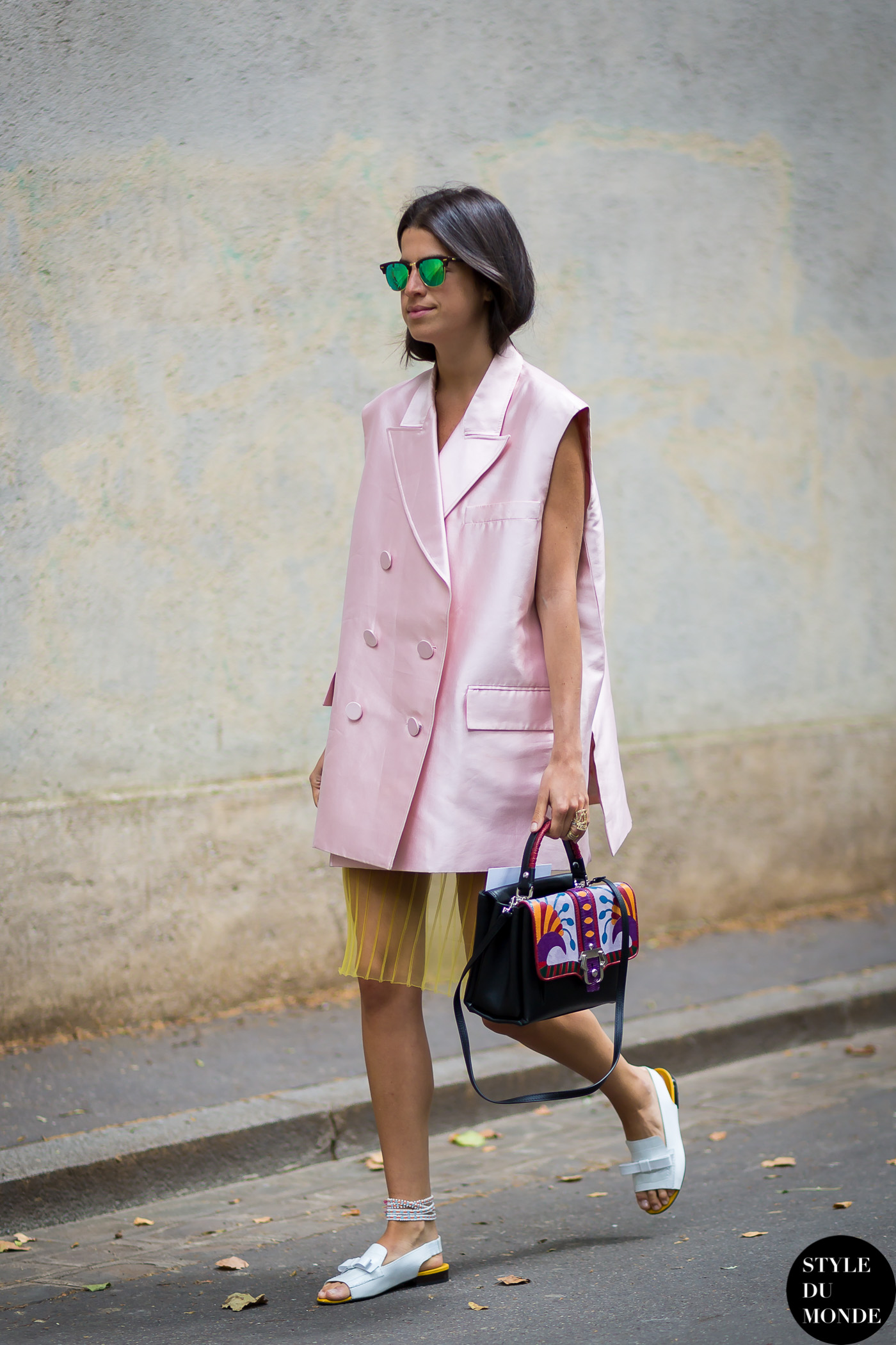 Leandra Medine Man Repeller Street Style Street Fashion by STYLEDUMONDE Street Style Fashion Blog