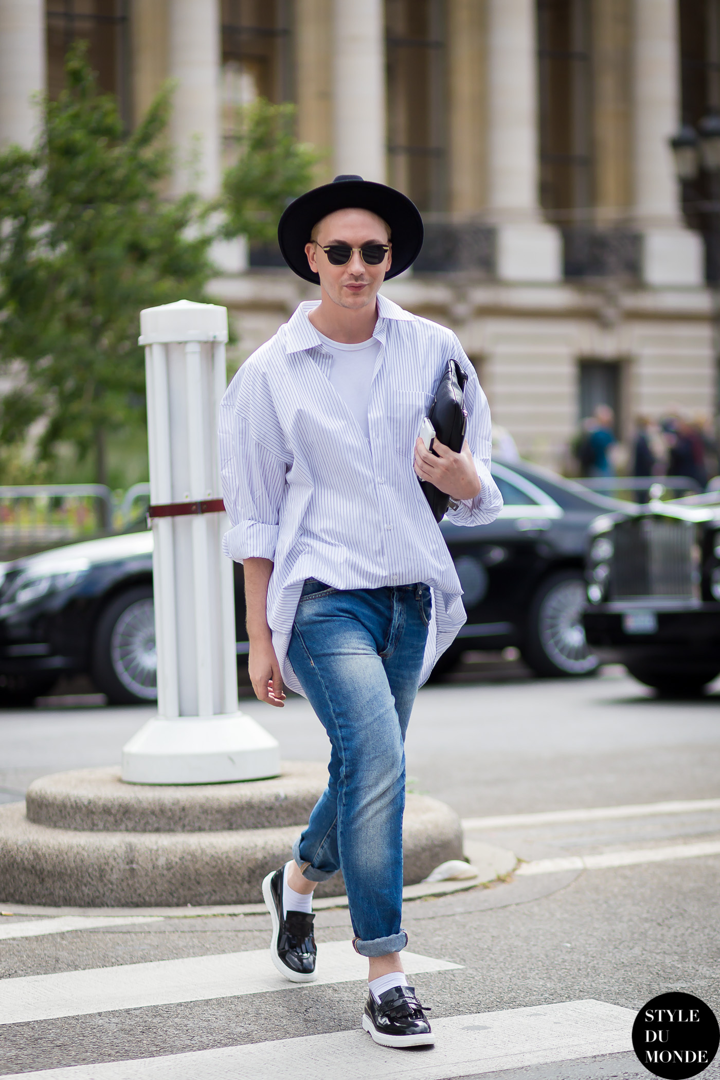 Stas Karavayev Street Style Street Fashion by STYLEDUMONDE Street Style Fashion Blog