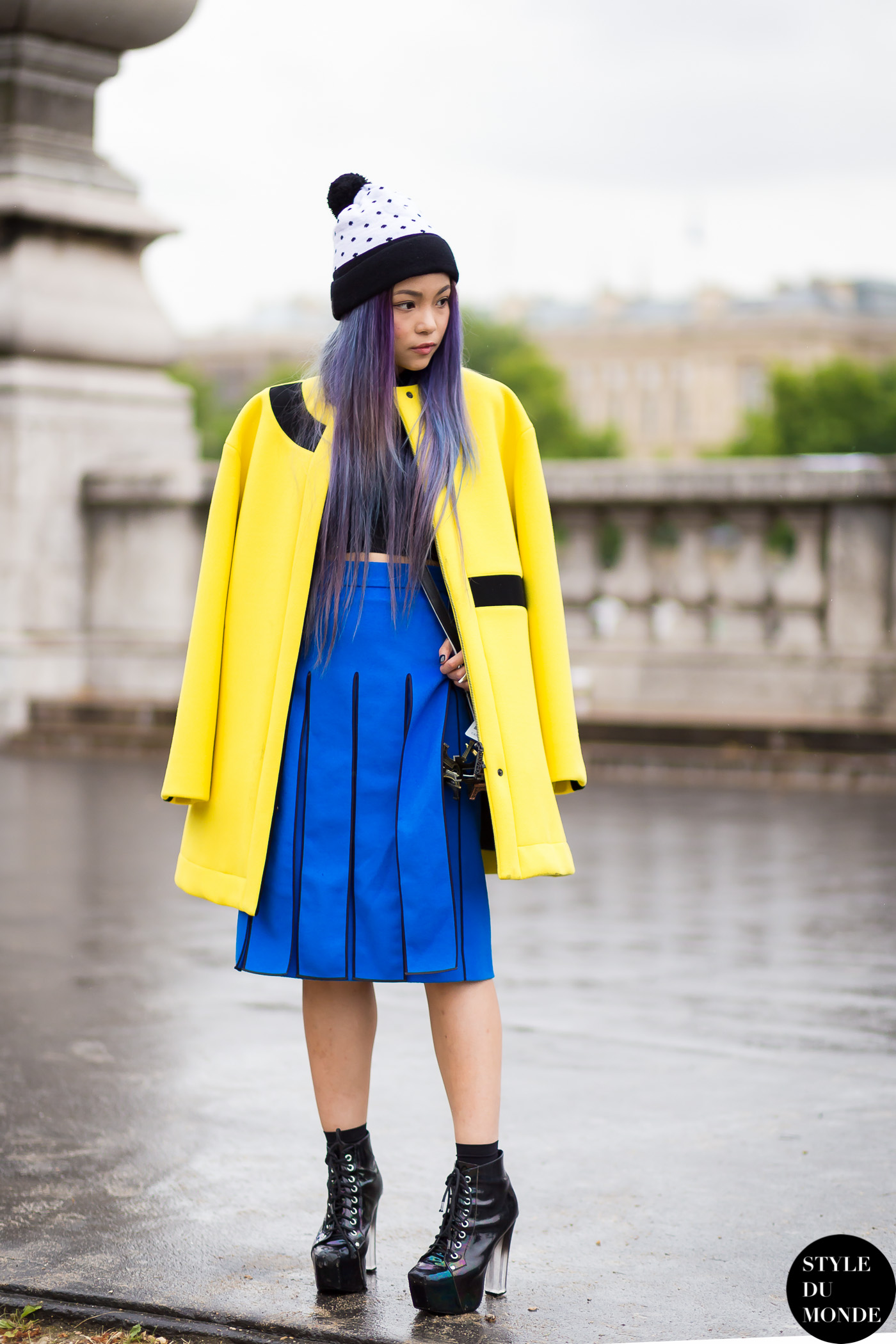 After Kenzo Street Style Street Fashion Streetsnaps by STYLEDUMONDE Street Style Fashion Blog