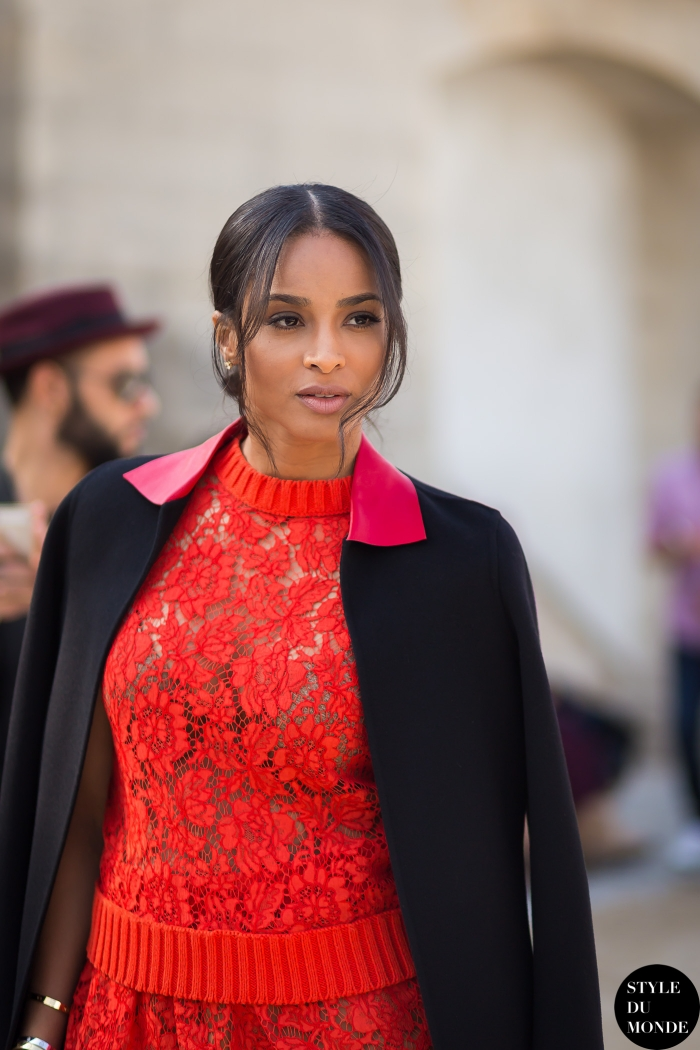 Ciara Street Style Street Fashion Streetsnaps by STYLEDUMONDE Street Style Fashion Blog