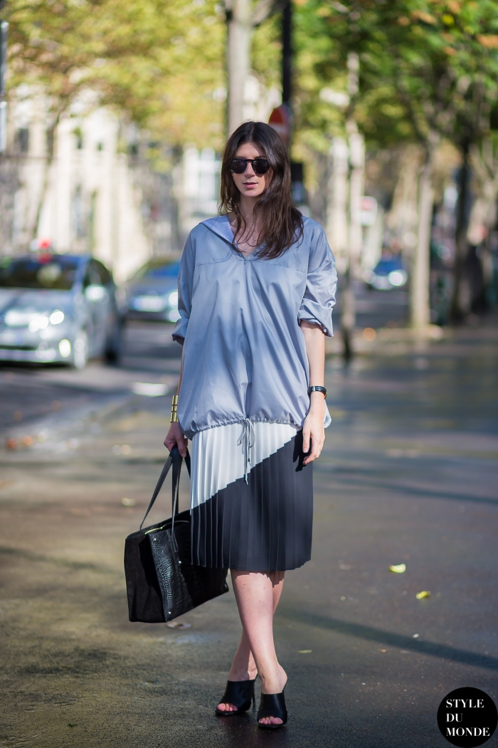 Labériane Ponton The Blab Street Style Street Fashion Streetsnaps by STYLEDUMONDE Street Style Fashion Blog