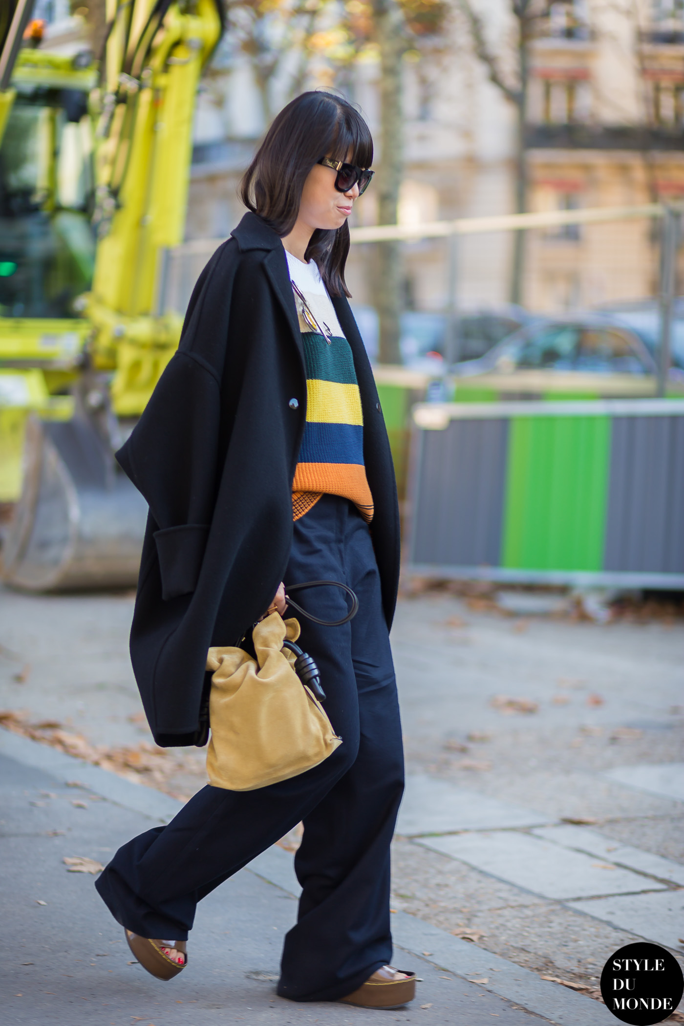 Leaf Greener Street Style Street Fashion Streetsnaps by STYLEDUMONDE Street Style Fashion Blog