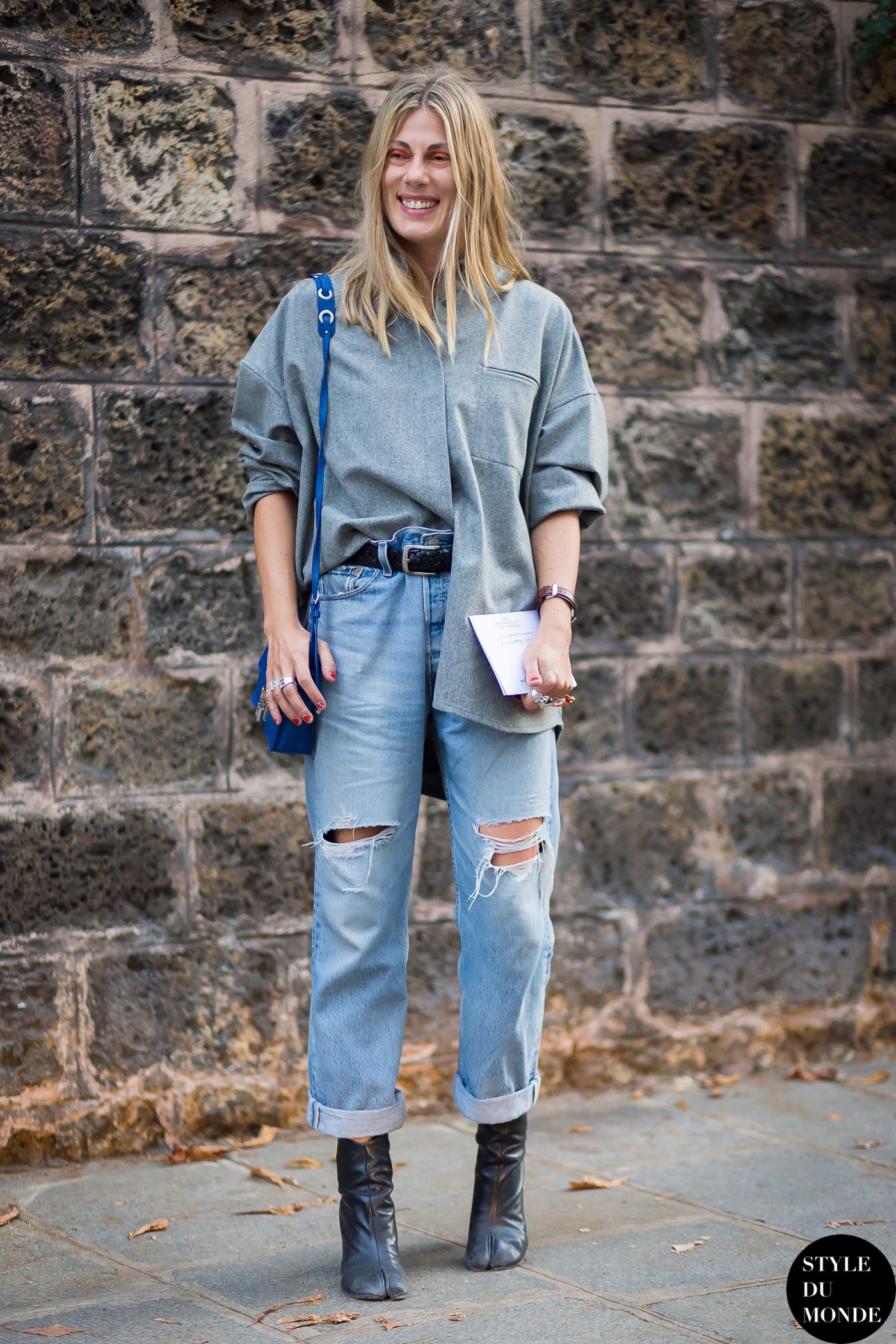 Natalie Hartley Street Style Street Fashion Streetsnaps by STYLEDUMONDE Street Style Fashion Blog