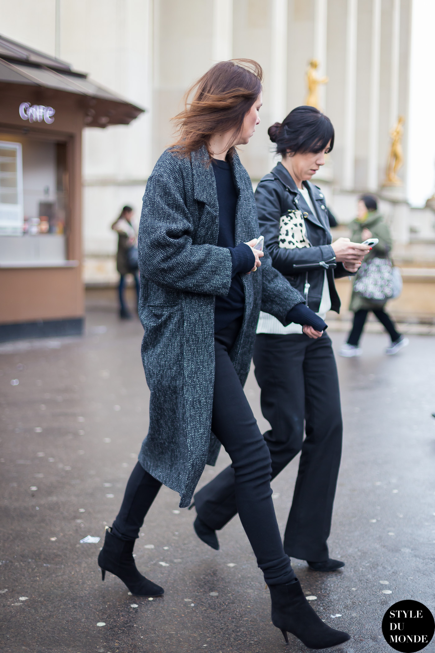 Claire Dhelens Street Style Street Fashion Streetsnaps by STYLEDUMONDE Street Style Fashion Blog