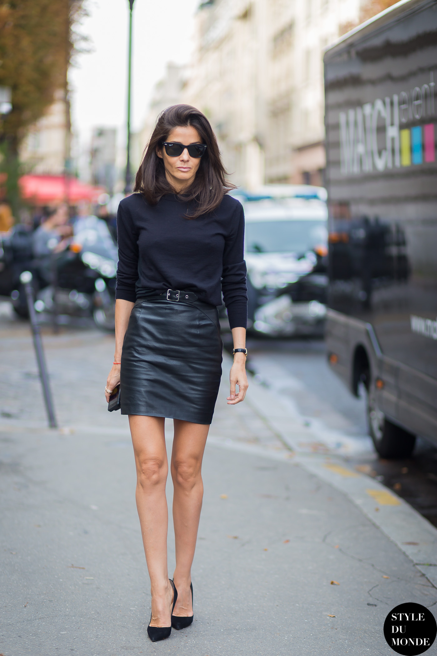 Barbara Martelo Street Style Street Fashion Streetsnaps by STYLEDUMONDE Street Style Fashion Blog
