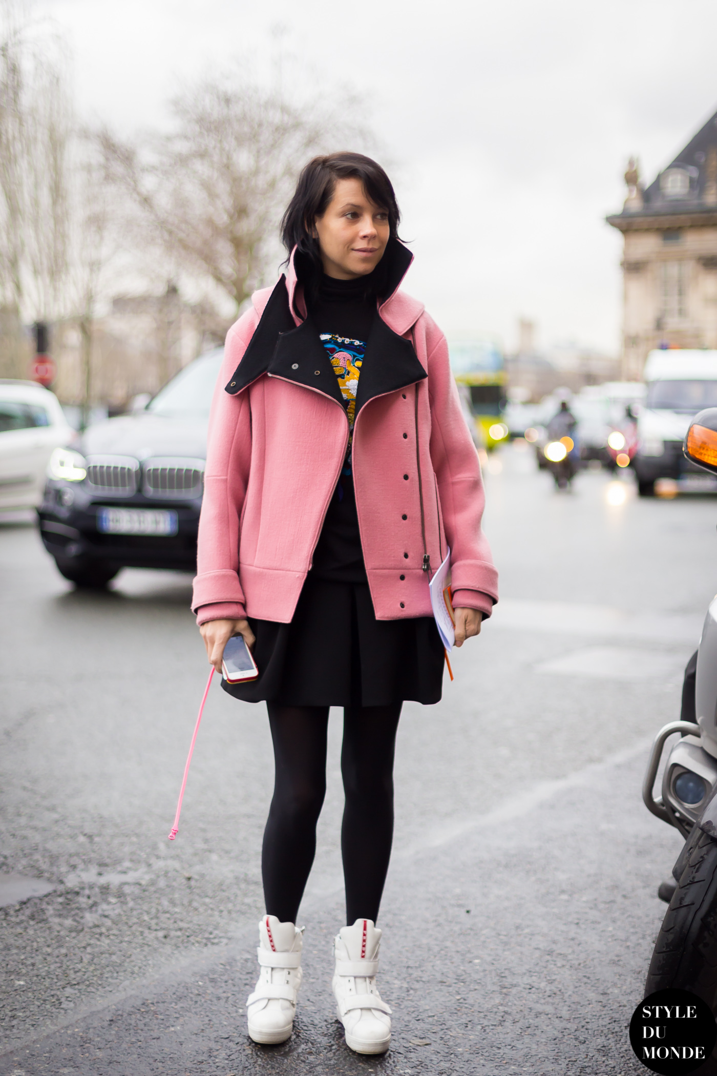 Charlotte Stockdale Street Style Street Fashion Streetsnaps by STYLEDUMONDE Street Style Fashion Blog