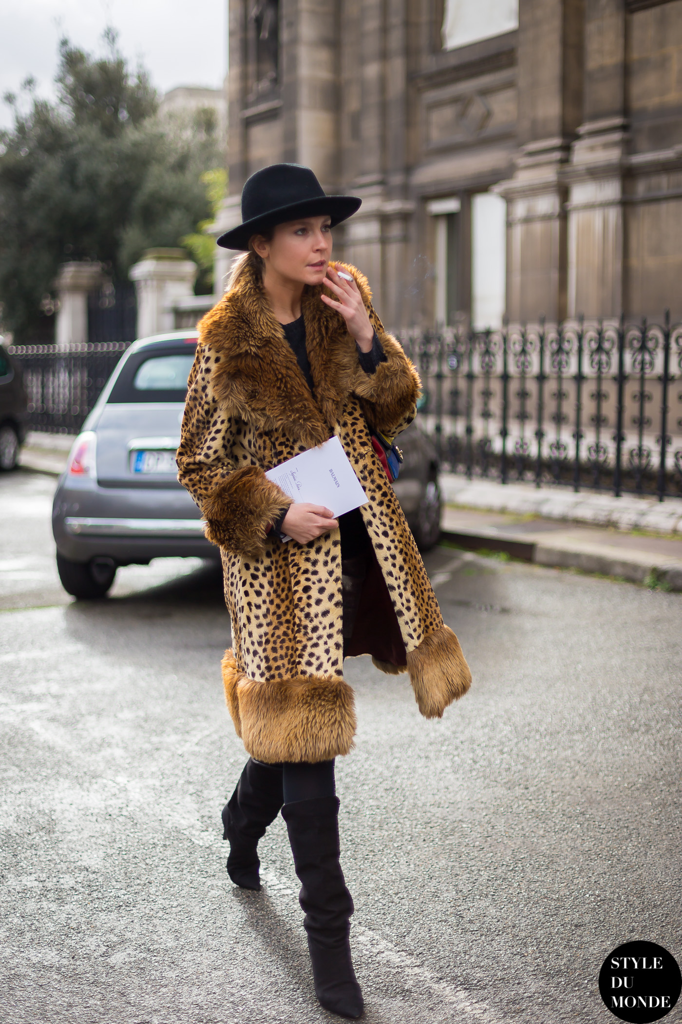 2014 Fashion Trends For Teens 2014 2015: Paris Fashion Week FW 2014 Street Style: Sophie Pera