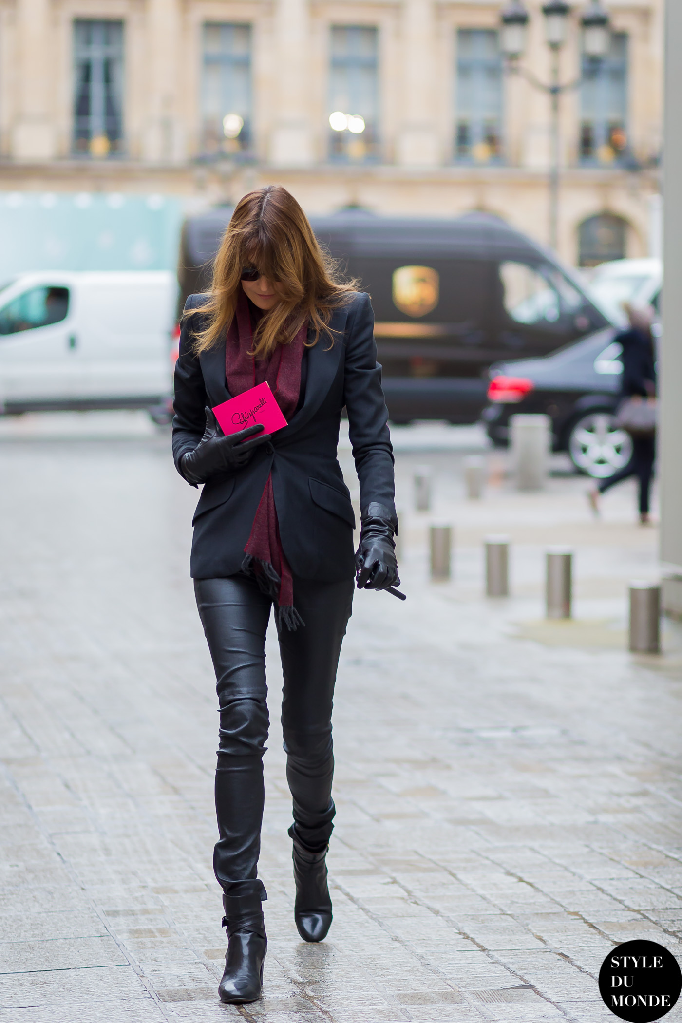 Haute Couture Ss 2015 Street Style Carla Bruni Style Du Monde Street Style Street Fashion