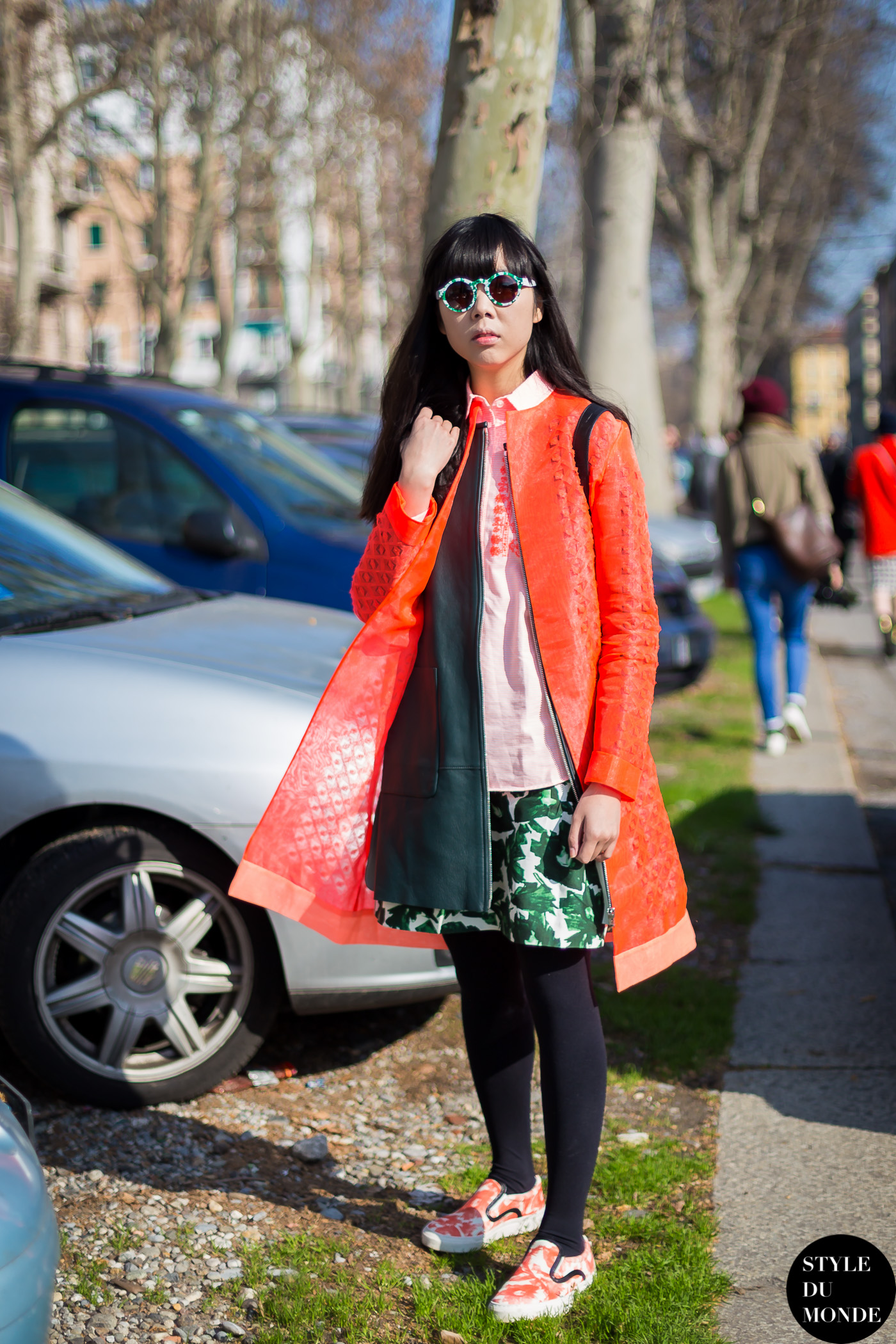 Susanna Lau Style Bubble Susie Bubble Street Style Street Fashion Streetsnaps by STYLEDUMONDE Street Style Fashion Blog