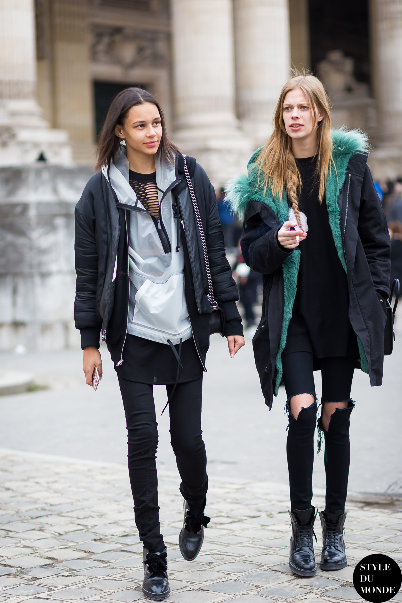 Binx Walton and Lexi Boling Street Style Street Fashion Streetsnaps by STYLEDUMONDE Street Style Fashion Blog