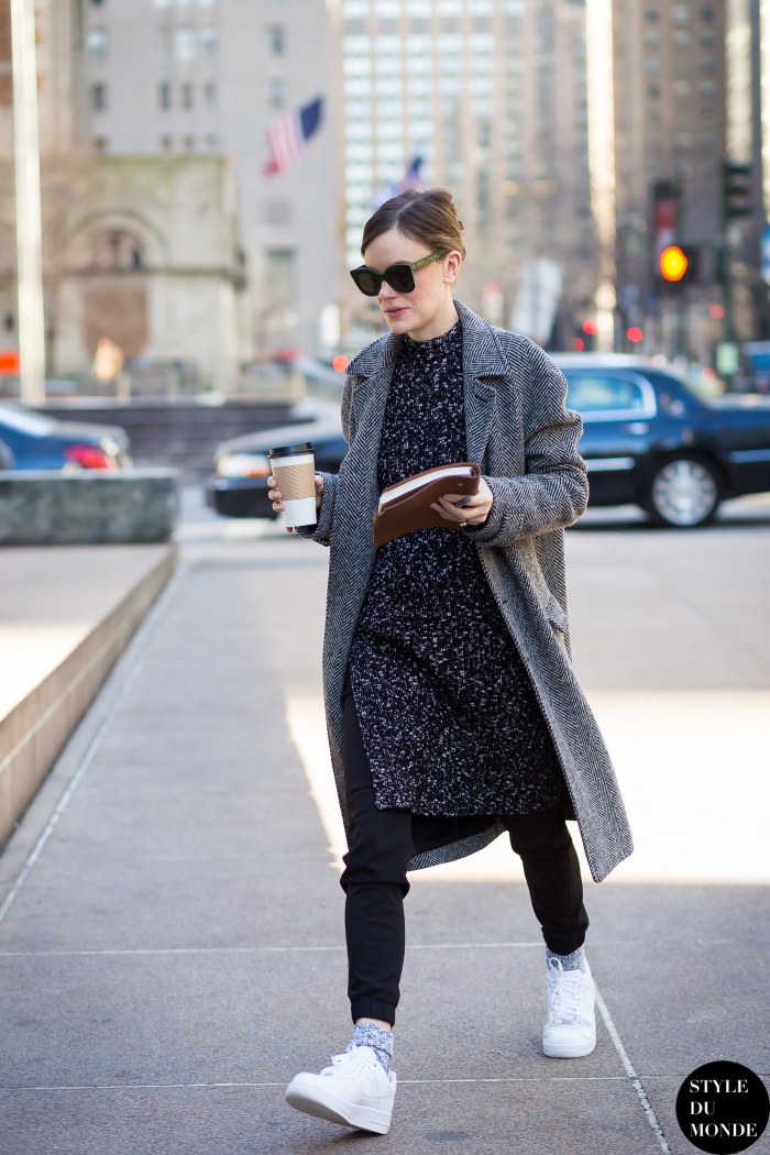 New York Fashion Week Fw 2015 Street Style Jo Ellison