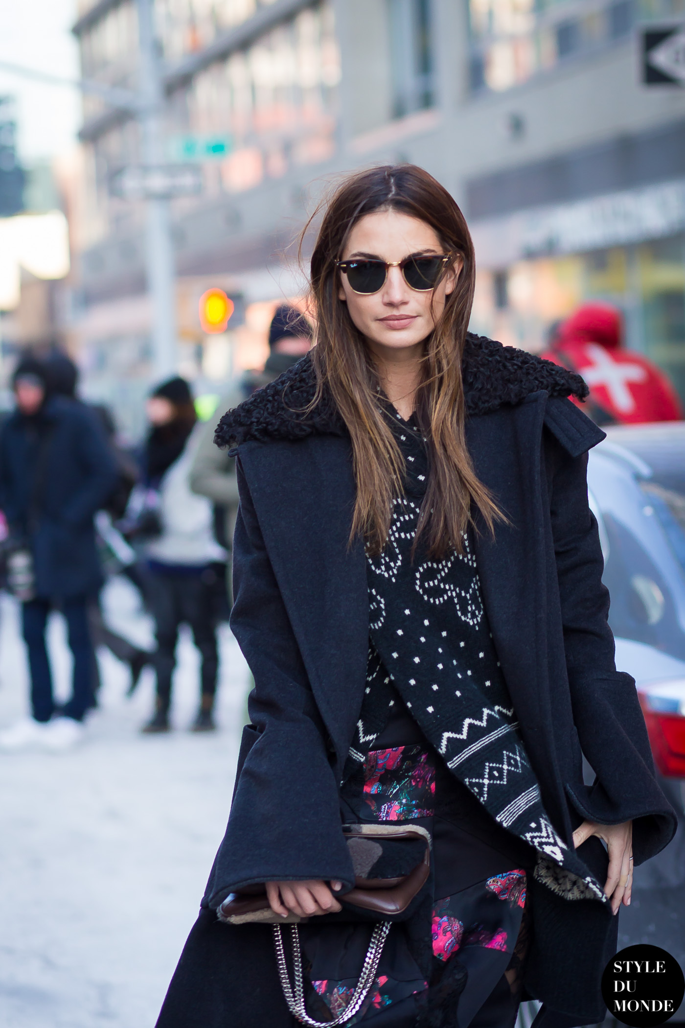 New York Fashion Week Fw 2015 Street Style Lily Aldridge