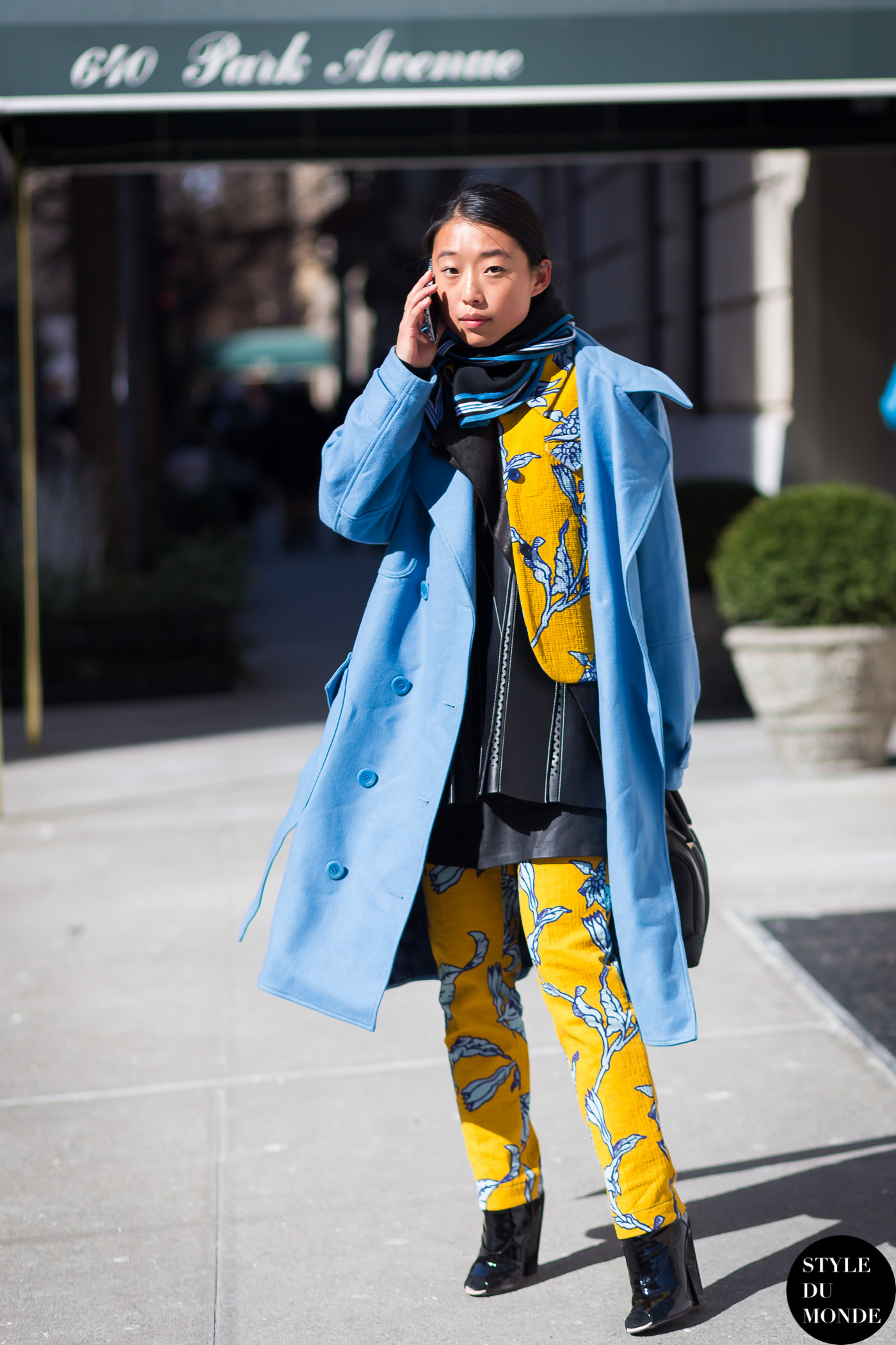 Margaret Zhang Street Style Street Fashion Streetsnaps by STYLEDUMONDE Street Style Fashion Blog