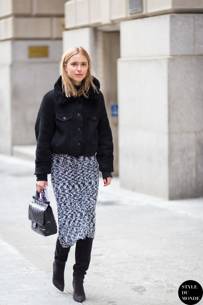 New York Fashion Week Fw 2015 Street Style Pernille