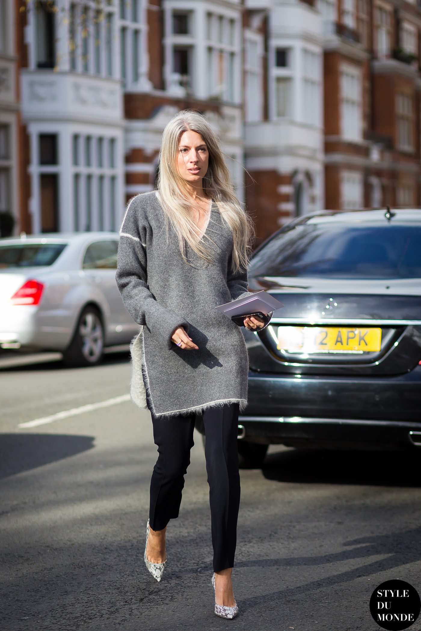 London Fashion Week Fw 2015 Street Style Sarah Harris