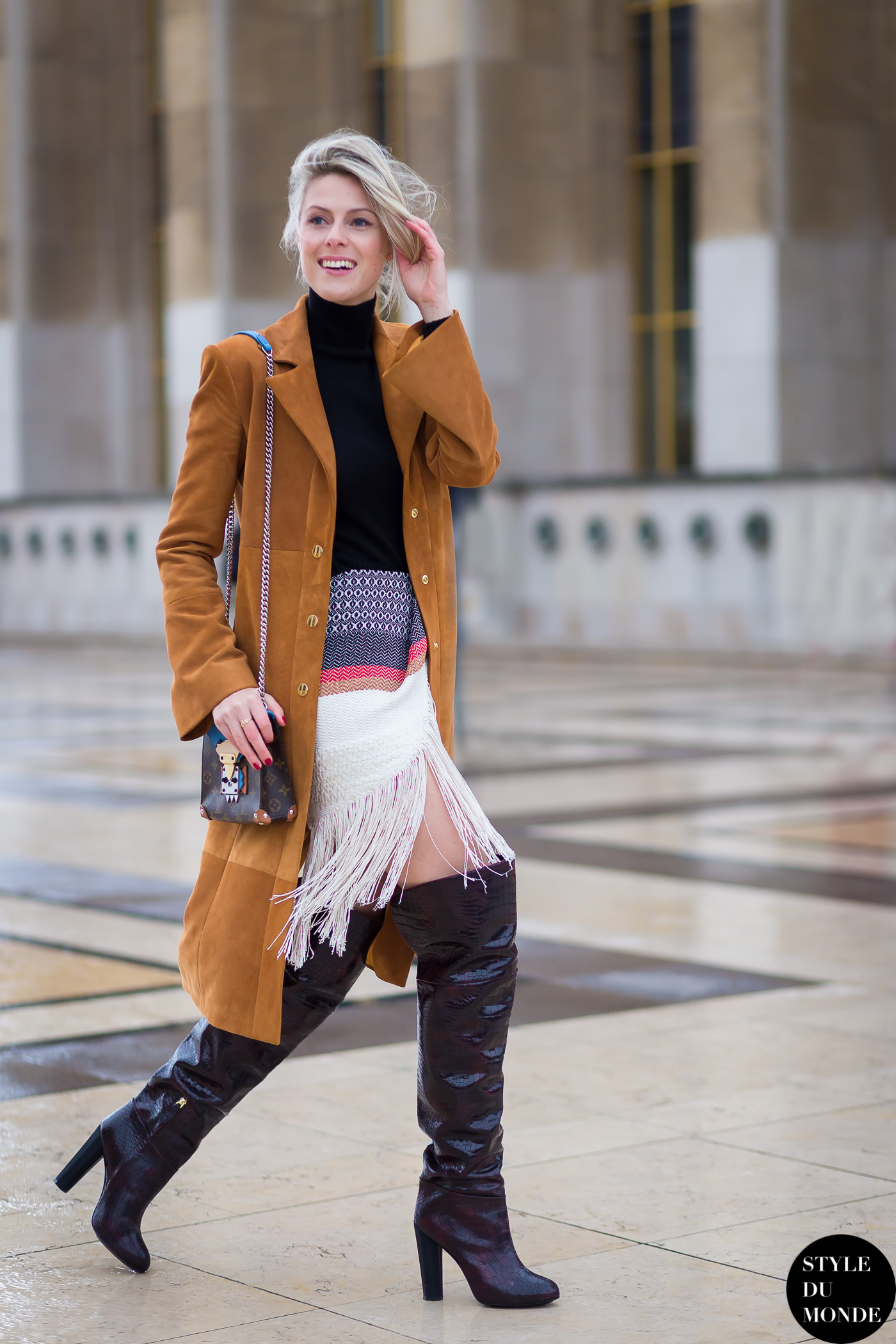Haute Couture Ss 2015 Street Style Sofie Valkiers Style Du Monde Street Style Street