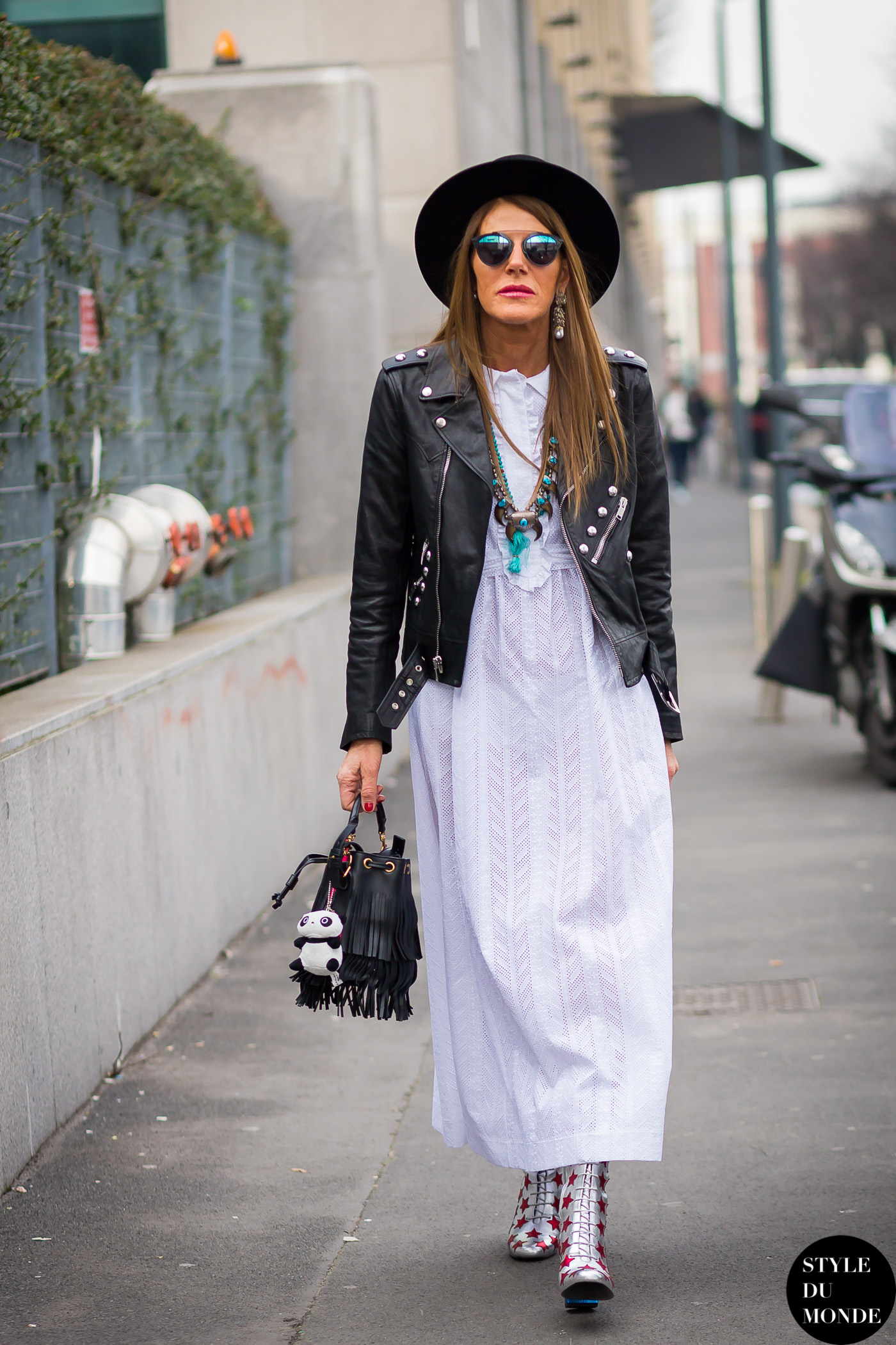 Milan Fashion Week Fw 2015 Street Style Anna Dello Russo