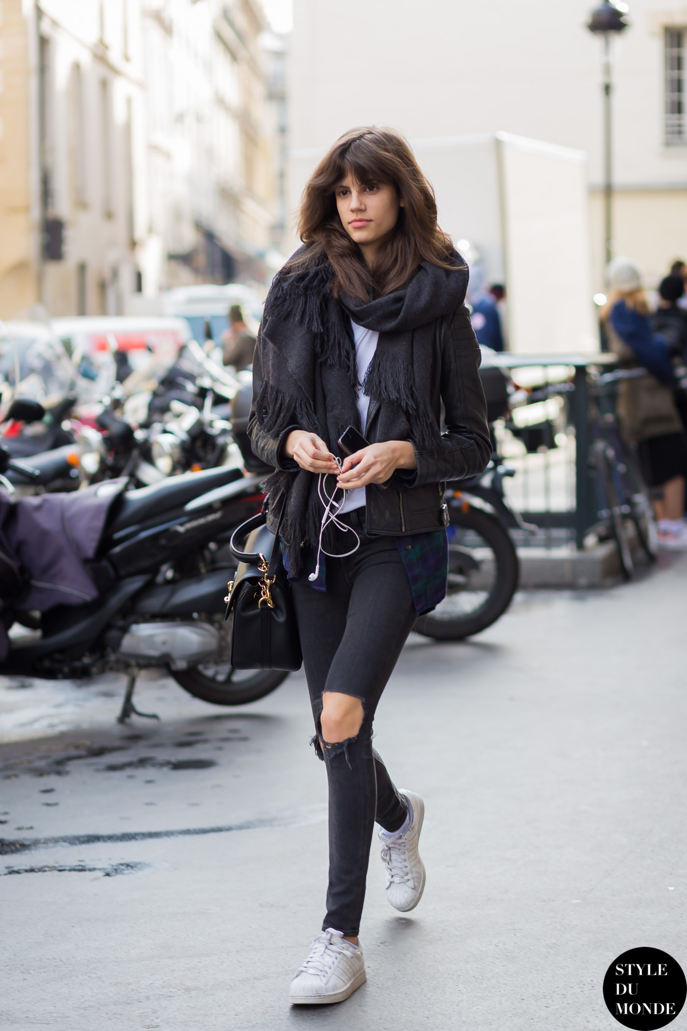 Antonina Petkovic Street Style Street Fashion Streetsnaps by STYLEDUMONDE Street Style Fashion Blog