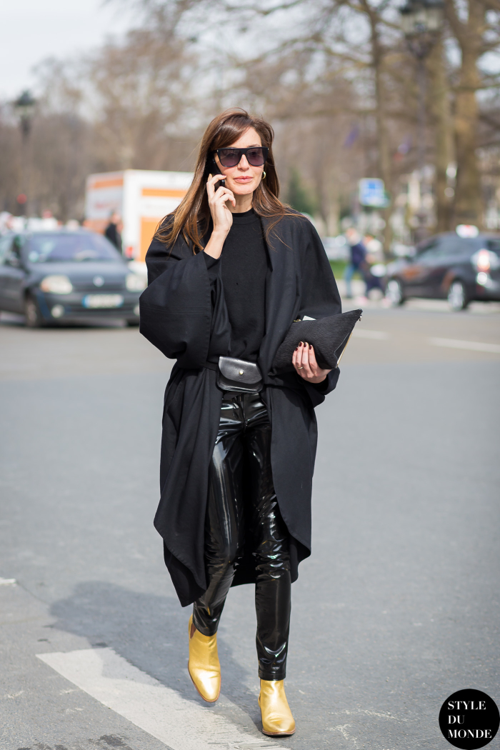Paris Fashion Week Fw 2015 Street Style Ece Sukan Style