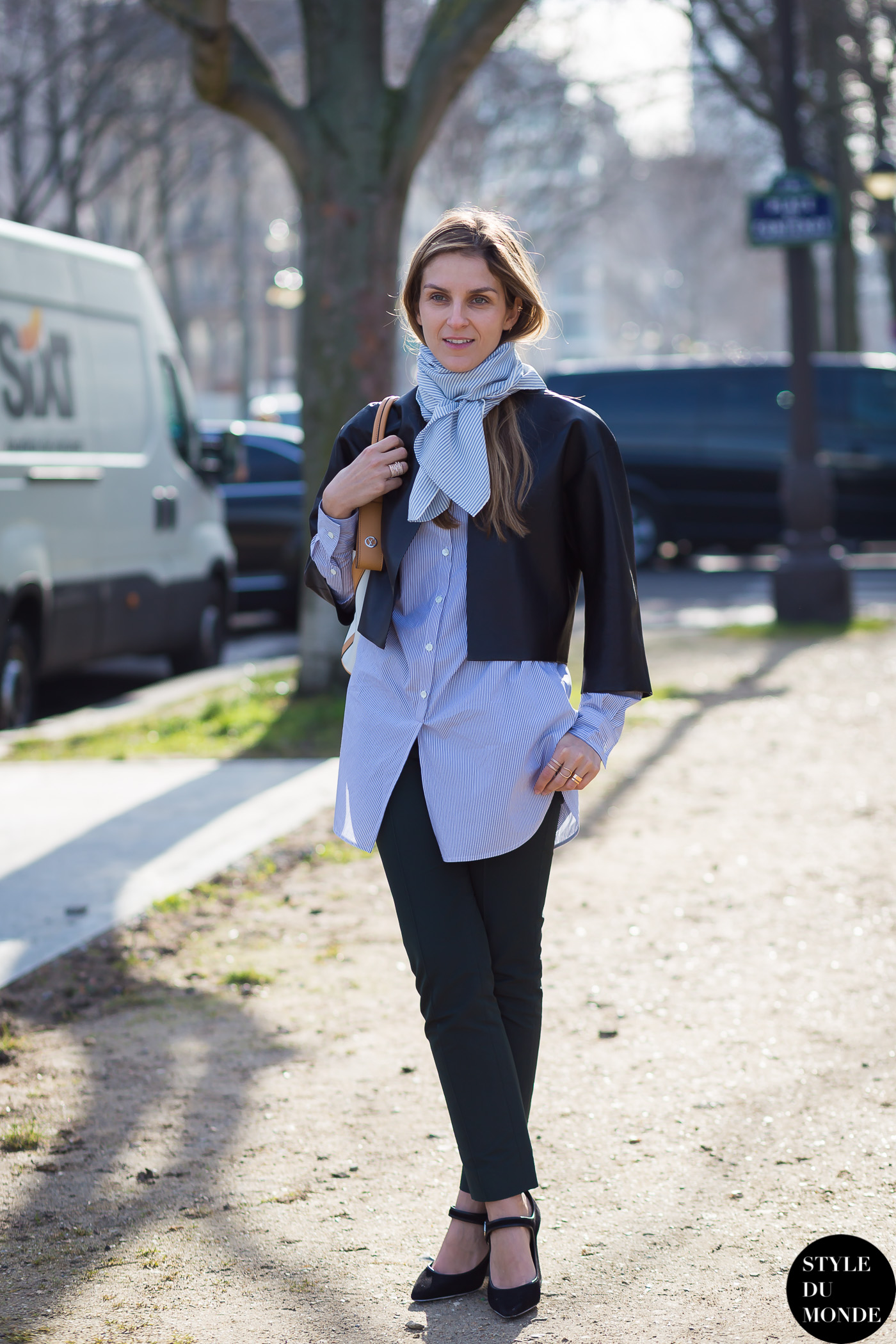 Paris Fashion Week Fw 2015 Street Style Gaia Repossi
