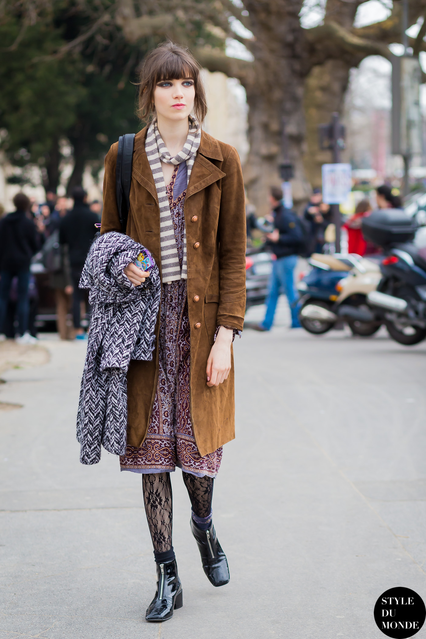 Paris Fashion Week Fw 2015 Street Style Grace Hartzel