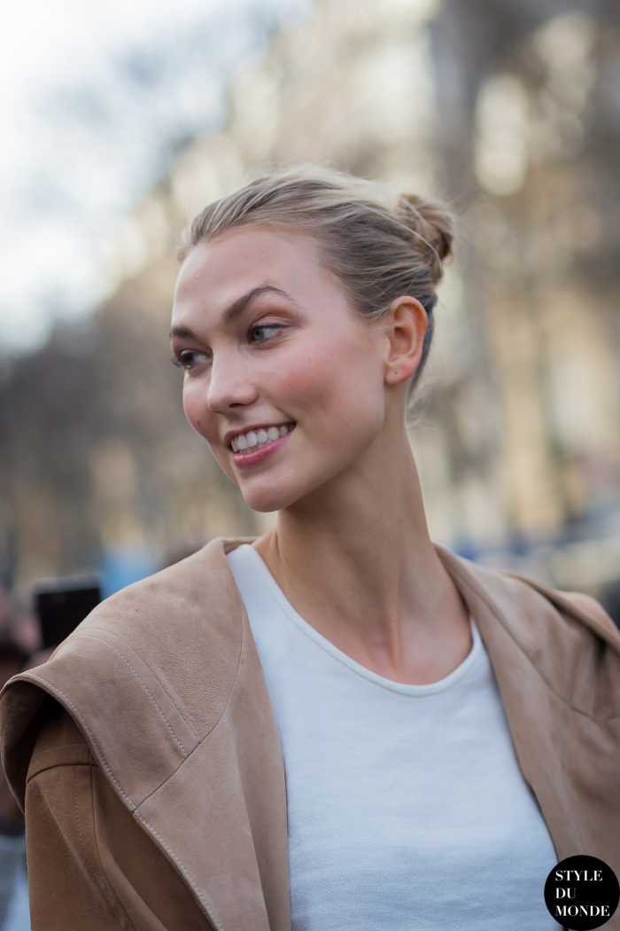 Paris Fashion Week Fw 2015 Street Style Karlie Kloss