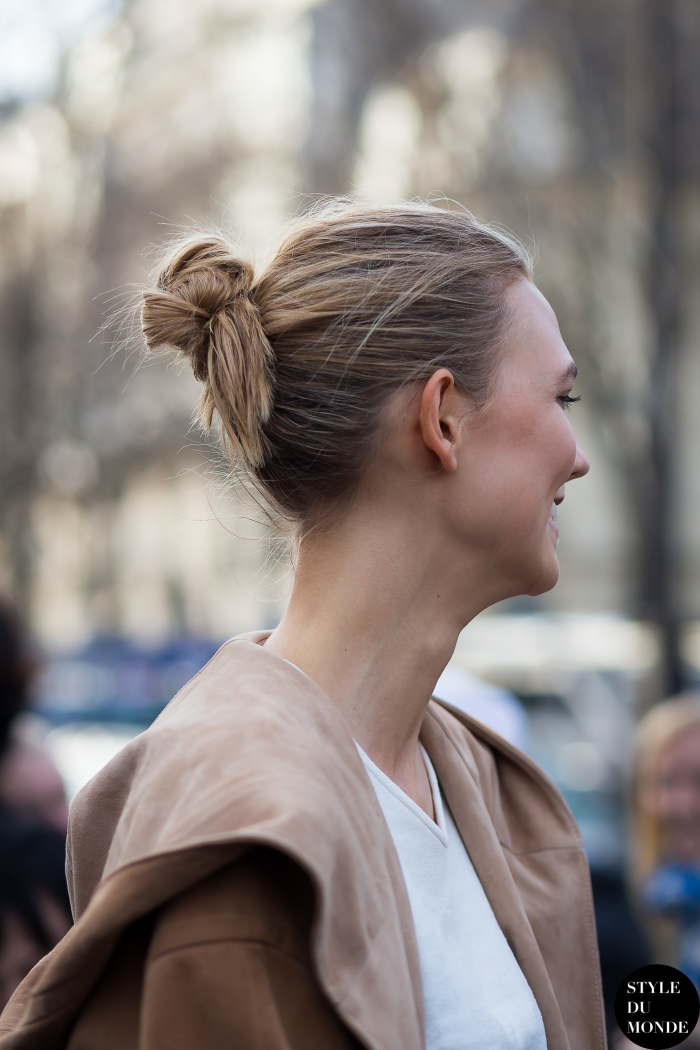 Karlie Kloss Street Style Street Fashion Streetsnaps by STYLEDUMONDE Street Style Fashion Blog