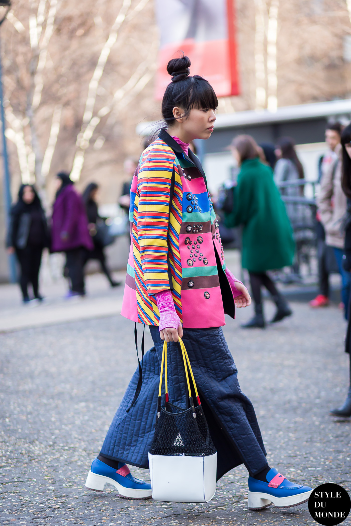 Susie Bubble Susie Lau Style Bubble Street Style Street Fashion Streetsnaps by STYLEDUMONDE Street Style Fashion Blog
