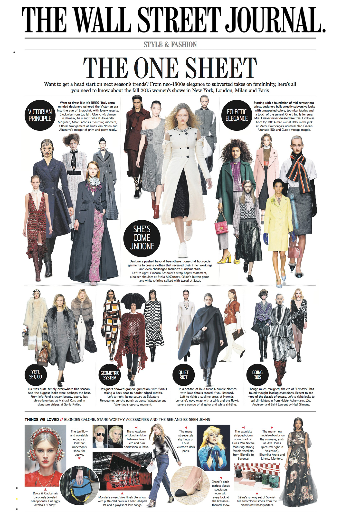 Wall street journal fashion 30
